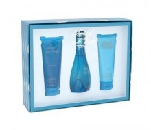 Davidoff Cool Water Edt 100ml + 75ml Body lotion + 75ml Shower gel naisille 00335