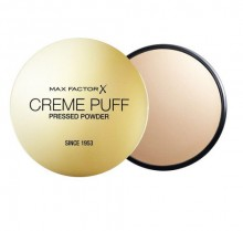 Max Factor Creme Puff Pressed Powder Cosmetic 21g 55 Candle Glow naisille 84414