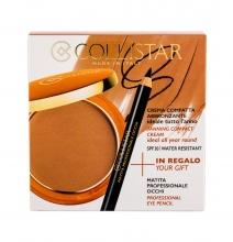 Collistar Tanning Compact Cream Cream Powder 9 g + Eyeliner 0,80 g 5 Seychelles naisille 61050
