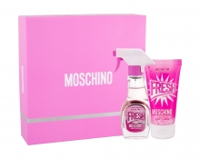 Moschino Fresh Couture Pink Edt 30 ml + Body Milk 50 ml naisille 44340