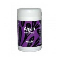 Kallos Argan Colour Hair Mask Cosmetic 1000ml naisille 05875