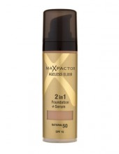 Max Factor Ageless Elixir 2v1 Foundation + Serum SPF15 Cosmetic 30ml 50 Natural naisille 95309