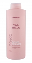 Wella Invigo Shampoo 1000ml Cool Blonde naisille 42826