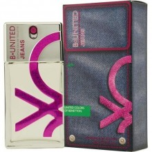 Benetton United Jeans EDT 30ml naisille 02373