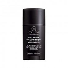 Collistar Men 24 Hour Antiperspirante Stick Sensitive Skin Cosmetic 50ml miehille 80259