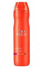 Wella Enrich Shampoo 250ml naisille 16477