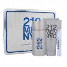 Carolina Herrera 212 Edt 100ml + 100ml sprchový gel + 10ml edt miehille 32479