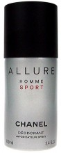 Chanel Allure Sport Deodorant 100ml miehille 39300