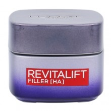 L´Oréal Paris Revitalift Filler HA Night Skin Cream 50ml naisille 01433