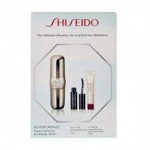 Shiseido Bio-Performance 15ml BIO-PERFORMANCE Super Corrective Eye Cream + 2ml Full Lash Volume Mascara + 5ml Ultimune Power Infusing Eye Concentrate naisille 30092