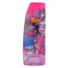DreamWorks Trolls 2in1 Shampoo & Conditioner Cosmetic 400ml miehille 34672