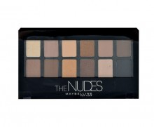 Maybelline The Nudes Eyeshadow Palette Eye Shadow 9,6g naisille 99081