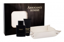 Arrogance Arrogance Uomo Edt 100 ml + Shower gel 75 ml + Leather pocket miehille 55864