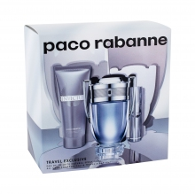 Paco Rabanne Invictus Edt 100 ml + Edt 10 ml + Shower Gel 75 ml miehille 59978