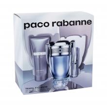 Paco Rabanne Invictus Edt 100 ml + Edt 10 ml + Shower Gel 75 ml miehille 59978