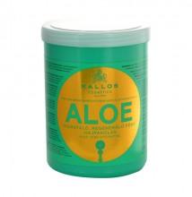 Kallos Aloe Vera Moisture Repair Shine Hair Mask Cosmetic 1000ml naisille 11685