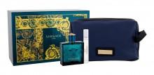 Versace Eros Edt 100 ml + Edt 10 ml + Cosmetic Bag miehille 43893