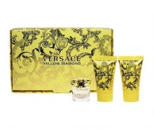Versace Yellow Diamond Edt 5ml + 25ml Body lotion + 25ml Shower gel naisille 05228
