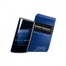 Bruno Banani Magic Man Eau de Toilette 50ml miehille 19809