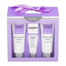 Marbert Bath & Body Classic Shower Gel 400 ml + Body Lotion 400 ml + Hand Cream 50 ml naisille 08782