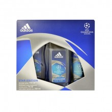 Adidas UEFA Champions League Star Edition Deodorant 150ml + 250ml shower gel + 75ml deodorant miehille 46295
