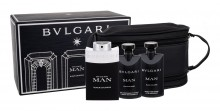 Bvlgari Man Black Cologne Edt 100 ml + Shower Gel 75 ml + Aftershave Balm 75 ml + Cosmetic Bag miehille 65169