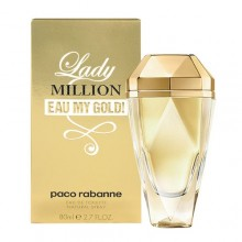 Paco Rabanne Lady Million Eau de Toilette 80ml naisille 24570