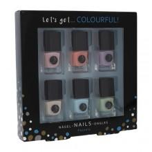2K Let´s Get Nail Polish 6 x 5 ml naisille 41703