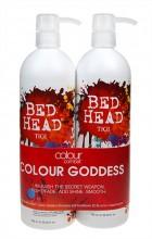Tigi Bed Head Colour Goddess Duo Kit 750ml Bed Head Colour Goddess Shampoo + 750ml Bed Head Colour Goddess Conditioner naisille 59239