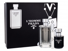 Prada L´Homme Edt 100 ml + Shower Cream 100 ml + Edt 10 ml miehille 71660