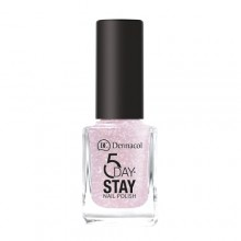 Dermacol 5 Day Stay Longlasting Nail Polish Cosmetic 11ml 04 Nude Glam naisille 59248