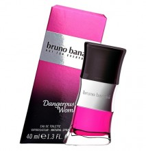 Bruno Banani Dangerous Woman Eau de Toilette 20ml naisille 92466