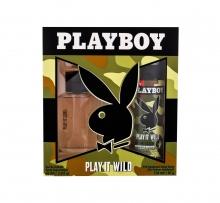 Playboy Play It Wild For Him Edt 60 ml + Deodorant 150 ml miehille 67674