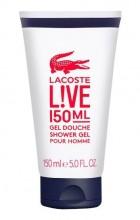 Lacoste Live Shower Gel 150ml miehille 80016