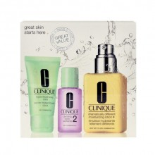 Clinique Dramatically Different Moisturizing Lotion+ 125ml Dramatically Different Moisturizing Lotion + 30ml Clarifying Lotion 2 + 30ml Liquid Facial Soap Mild naisille 99680