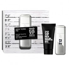 Carolina Herrera 212 VIP Men Edt 100ml + 100ml Shower gel miehille 61656