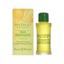 Frais Monde Spa Fruit Orange And Chilli Leaves Perfumed Oil 10ml naisille 25205