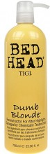 Tigi Bed Head Dumb Blonde Reconstructor Cosmetic 750ml naisille 23112