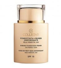Collistar Evening Foundation + Primer Makeup 35ml 3 Sand naisille 33739