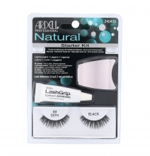 Ardell Natural Eyelashes Demi Wispies 101 1 pair + Eyeůasjes Glue 2,5 g + Applicator Black naisille 24084