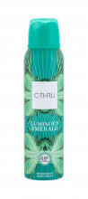 C-THRU Luminous Emerald Deodorant 150ml naisille 13683