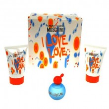 Moschino I Love Love Edt 4,9ml + 25ml Body lotion + 25ml Shower gel naisille 00698