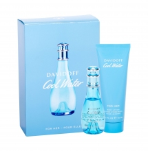 Davidoff Cool Water Edt 30 ml +Body Lotion 75 ml naisille 30638