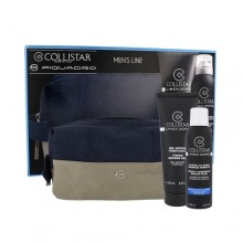 Collistar Men´s Line Kit pěna na holení Men Perfect Adherence Shaving Foam 200 ml + sprchový gel Men Toning Shower Gel 250 ml + kosmetická taška miehille 84356