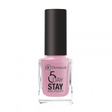Dermacol 5 Day Stay Longlasting Nail Polish Cosmetic 11ml 10 Milk Shake naisille 59309