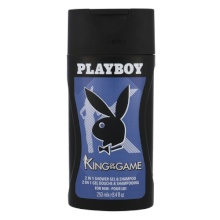 Playboy King of the Game Shower gel 250ml miehille 48535