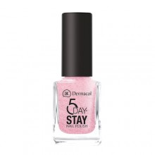 Dermacol 5 Day Stay Longlasting Nail Polish Cosmetic 11ml 11 Princess Rule naisille 59316