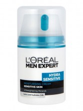 L´Oreal Paris Men Expert Hydra Sensitive Moisturising Cream Cosmetic 50ml miehille 02881