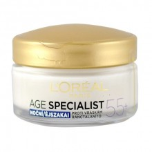 L´Oreal Paris Age Specialist 55+ Night Cream Cosmetic 50ml naisille 32436