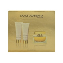 Dolce&Gabbana The One Edp 75ml + 50ml body lotion + 50ml shower gel naisille 10860